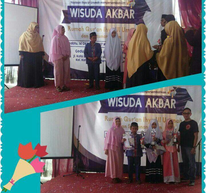 Kejuaraan Lomba Tahfidz Al Qur'an SDIT Al Hidayah Cibinong di Jakarta