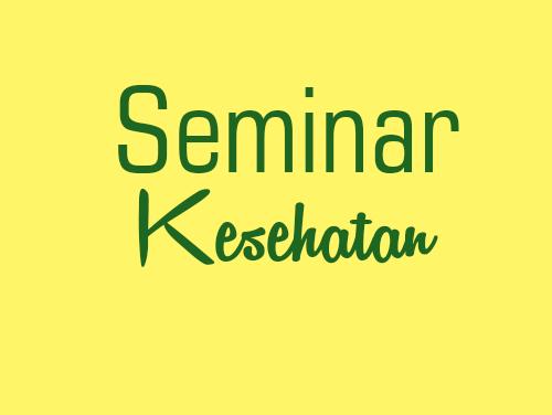 """Seminar Kesehatan """"Berdamai dengan SCABIES"""""""