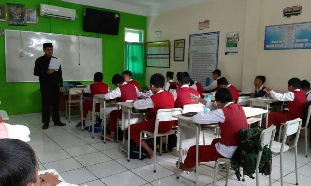 Kegiatan Ujian Praktek Bahasa Indonesia kelas 6