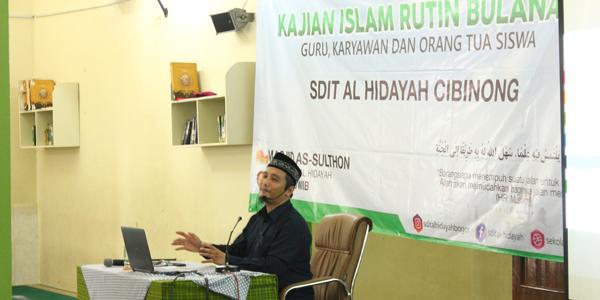 Kajian Bulanan SDIT Al Hidayah Cibinong 19 Oktober 2019